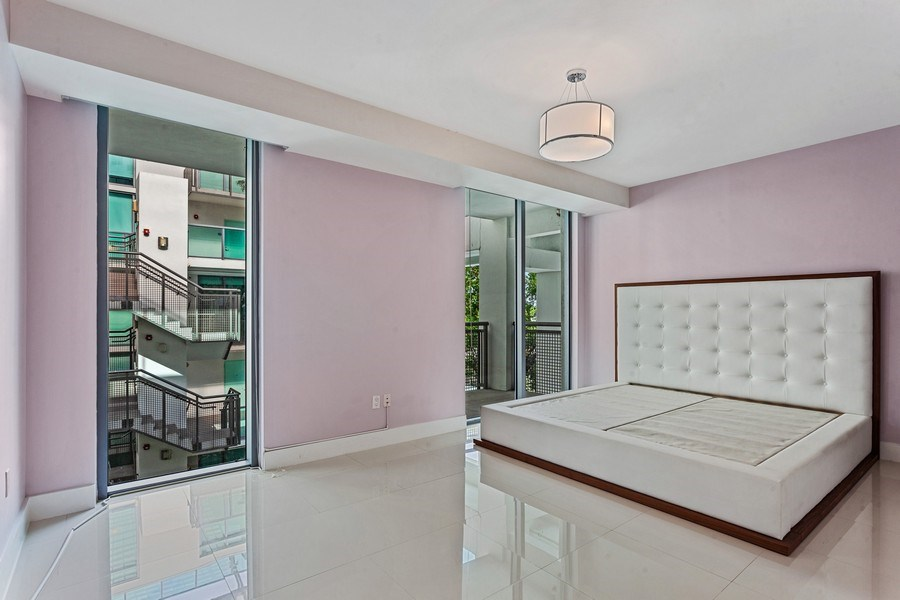 Real Estate Photography - 6000 collins Ave, 301, Miami Beach, FL, 33140 - Master Bedroom
