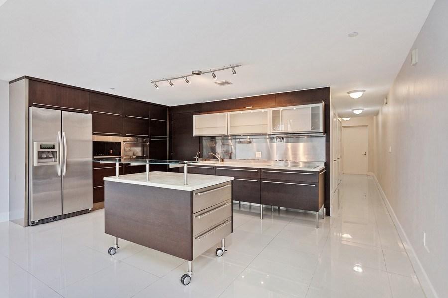 Real Estate Photography - 6000 collins Ave, 301, Miami Beach, FL, 33140 - Kitchen