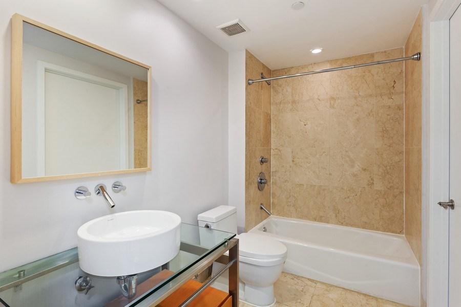 Real Estate Photography - 6000 collins Ave, 301, Miami Beach, FL, 33140 - Bathroom