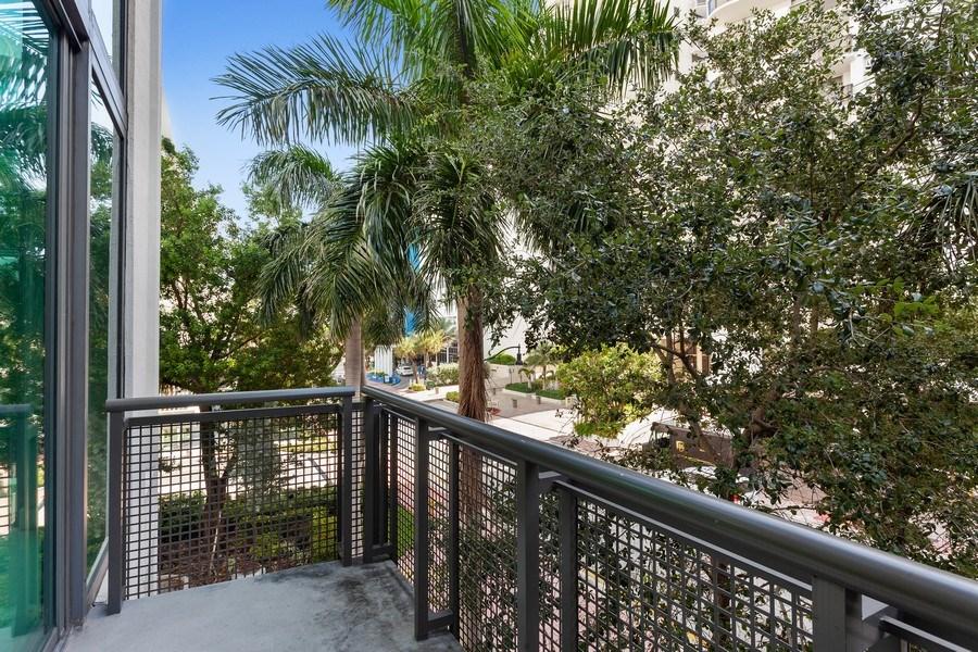 Real Estate Photography - 6000 collins Ave, 301, Miami Beach, FL, 33140 - Balcony