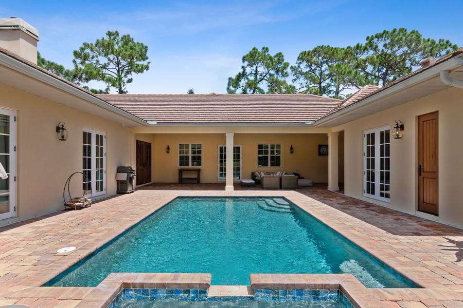 Real Estate Photography - 402 Walls Way, Osprey, FL, 34229 - Pool