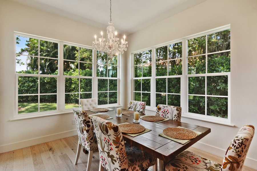 Real Estate Photography - 402 Walls Way, Osprey, FL, 34229 - Dining Room