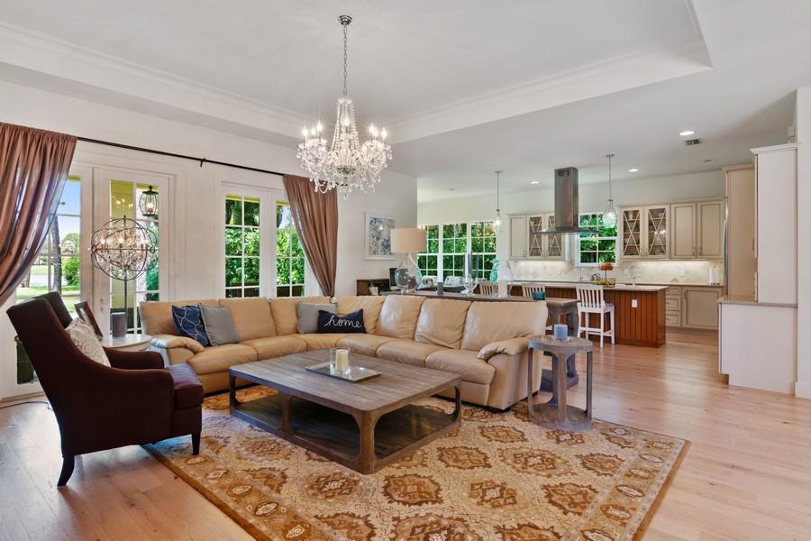 Real Estate Photography - 402 Walls Way, Osprey, FL, 34229 - Kitchen / Living Room