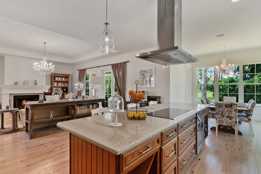 Real Estate Photography - 402 Walls Way, Osprey, FL, 34229 - Kitchen/Dining