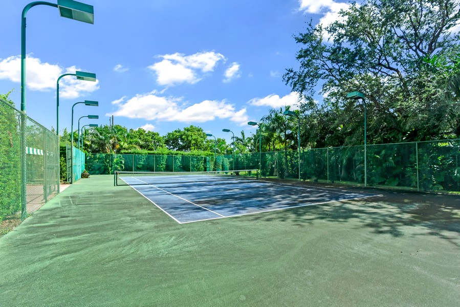 Real Estate Photography - 2789 NE 37th Dr, Fort Lauderdale, FL, 33308 - Tennis Court