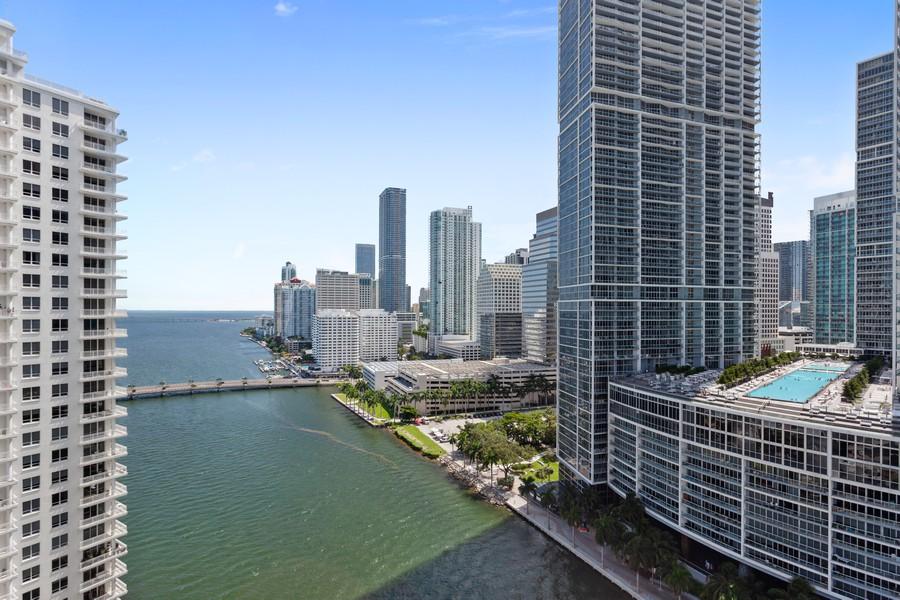 Real Estate Photography - 901 Brickell Key Blvd #2203, Miami, FL, 33131 - View