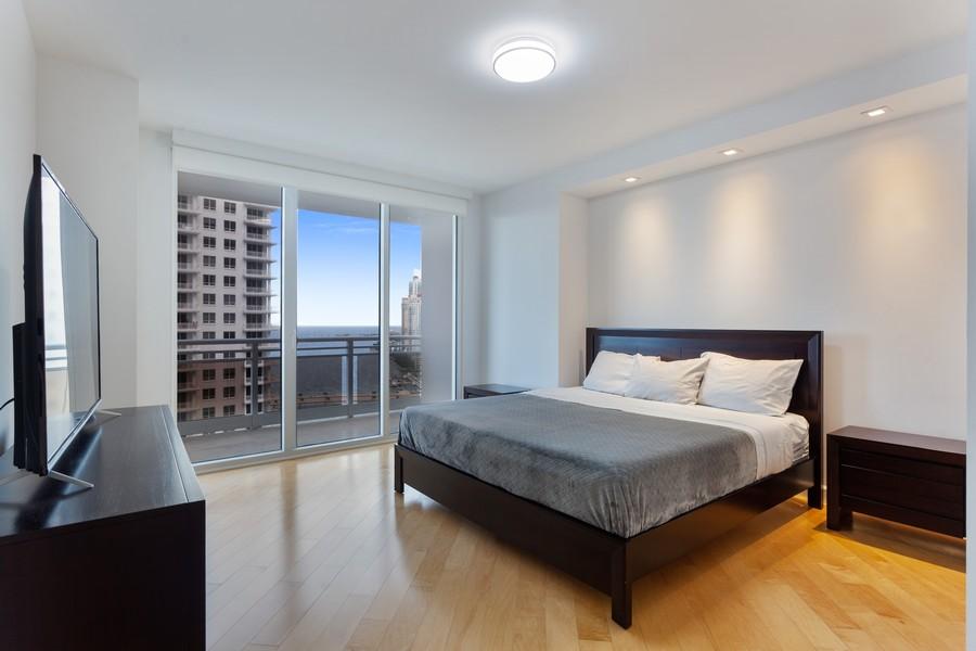 Real Estate Photography - 901 Brickell Key Blvd #2203, Miami, FL, 33131 - Master Bedroom