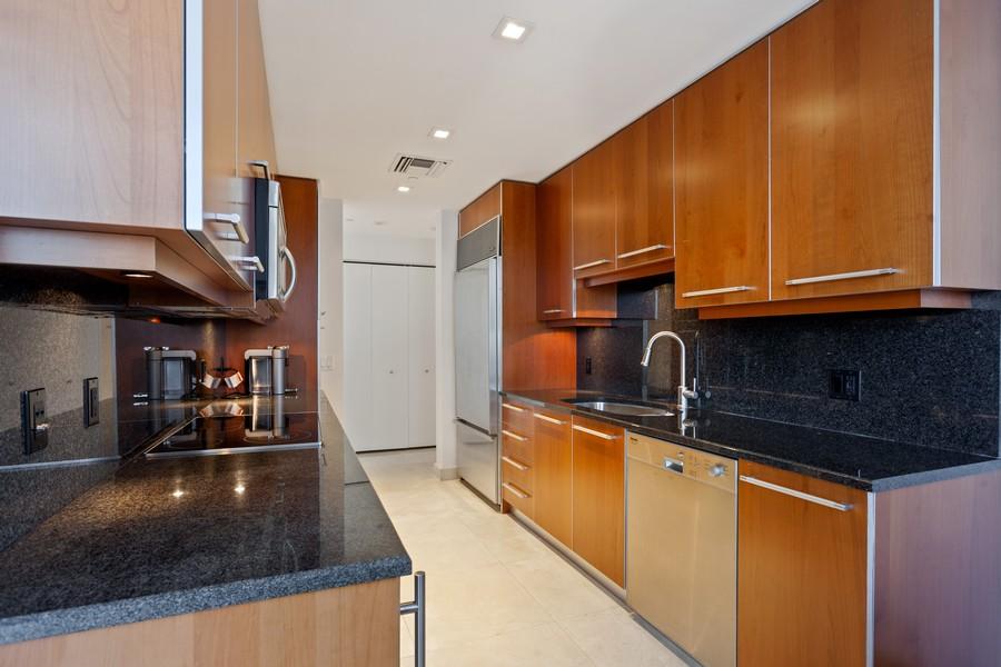 Real Estate Photography - 901 Brickell Key Blvd #2203, Miami, FL, 33131 - Kitchen