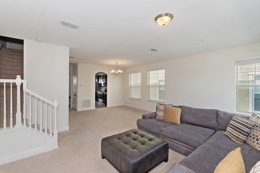 Real Estate Photography - 10562 Green Ivy Lane, Orlando, FL, 32832 - Family Room