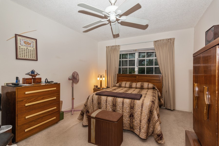 Real Estate Photography - 7930 Camino Circle, Miami, FL, 33143 - Master Bedroom
