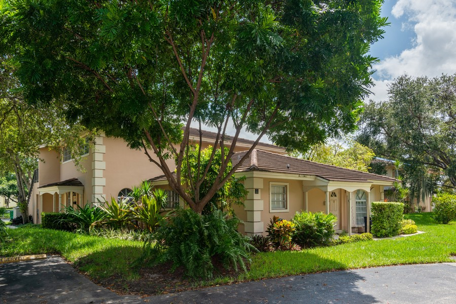Real Estate Photography - 7930 Camino Circle, Miami, FL, 33143 - Front View