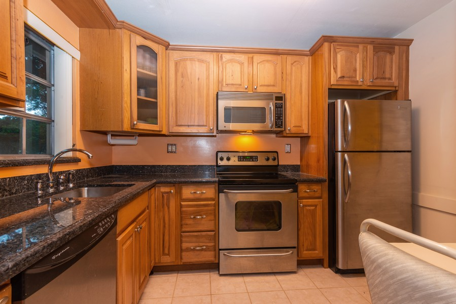 Real Estate Photography - 7930 Camino Circle, Miami, FL, 33143 - Kitchen