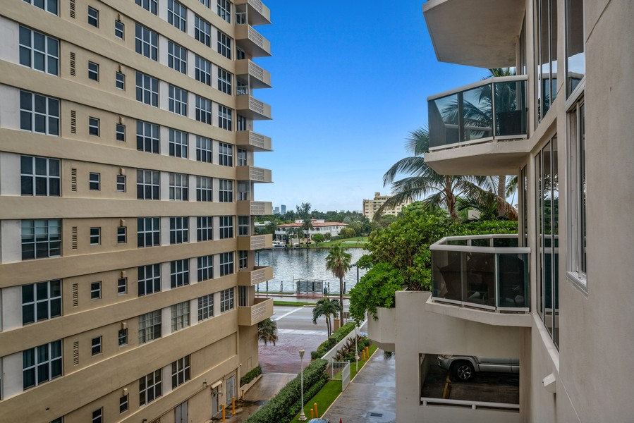Real Estate Photography - 4775 Collins Ave., Unit 504, Miami Beach, FL, 33140 - Canal View