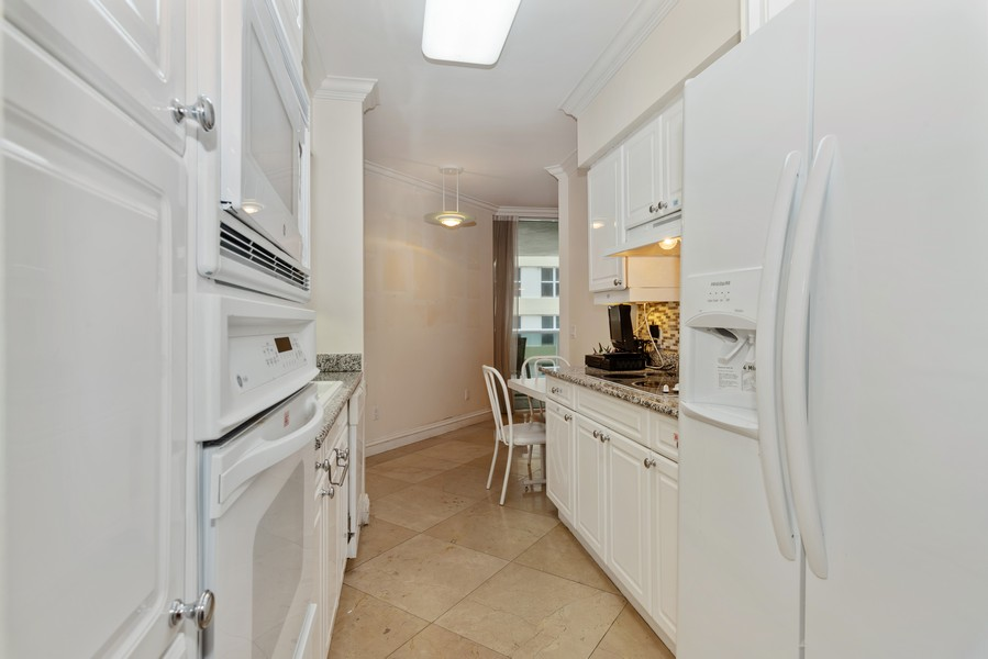 Real Estate Photography - 4775 Collins Ave., Unit 504, Miami Beach, FL, 33140 - Kitchen / Breakfast Room