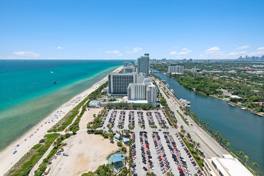 Real Estate Photography - 4775 Collins Ave., Unit 3804, Miami Beach, FL, 33140 - View