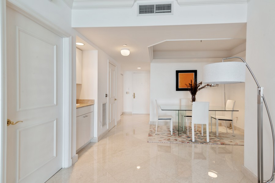 Real Estate Photography - 4775 Collins Ave., Unit 3804, Miami Beach, FL, 33140 - Dining Room