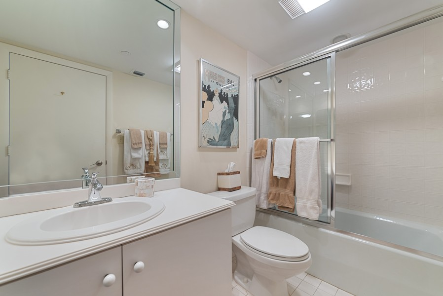 Real Estate Photography - 4101 N Ocean, Unit 1508, Boca Raton, FL, 33431 - Bathroom
