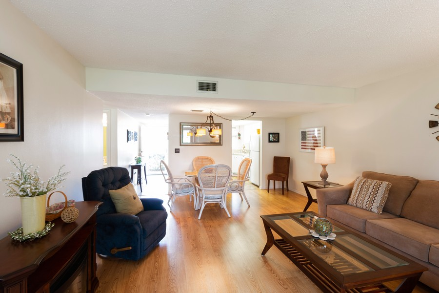 Real Estate Photography - 18081 SE Country Club Drive #303, Tequesta, FL, 33469 - Great Room