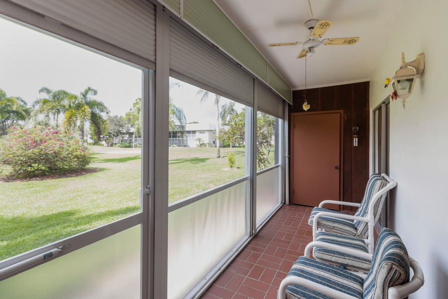 Real Estate Photography - 18081 SE Country Club Drive #303, Tequesta, FL, 33469 - Patio