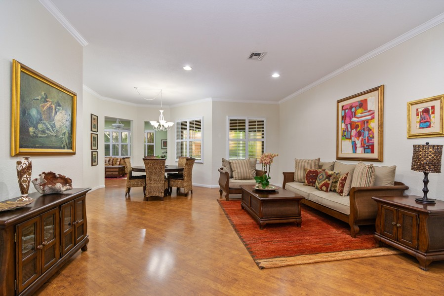 Real Estate Photography - 818 Lavender Circle, Weston, FL, 33327 - Living Room
