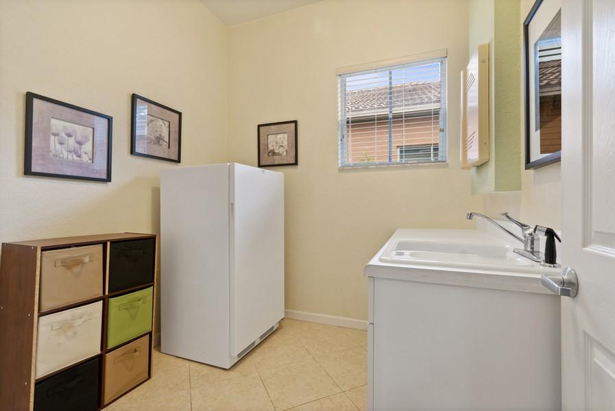 Real Estate Photography - 818 Lavender Circle, Weston, FL, 33327 - Utility Room
