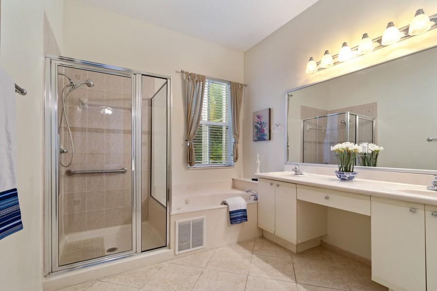 Real Estate Photography - 818 Lavender Circle, Weston, FL, 33327 - Master Bathroom