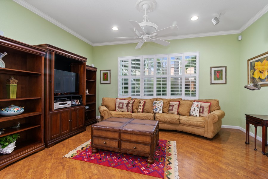 Real Estate Photography - 818 Lavender Circle, Weston, FL, 33327 - Family Room