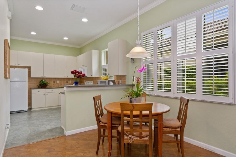 Real Estate Photography - 818 Lavender Circle, Weston, FL, 33327 - Breakfast Room