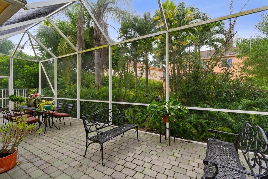 Real Estate Photography - 818 Lavender Circle, Weston, FL, 33327 - Patio