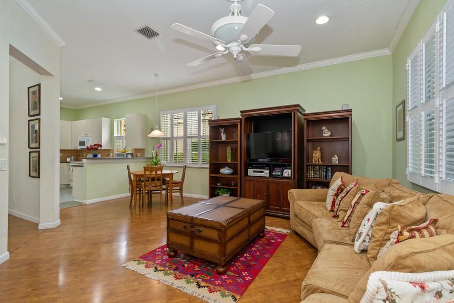 Real Estate Photography - 818 Lavender Circle, Weston, FL, 33327 - Family Room / Kitchen