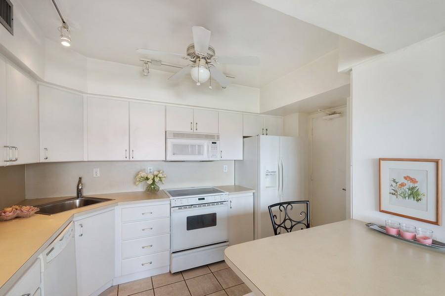 Real Estate Photography - 3750 GALT OCEAN DRIVE UNIT 407, FORT LAUDERDALE, FL, 33304 - Kitchen