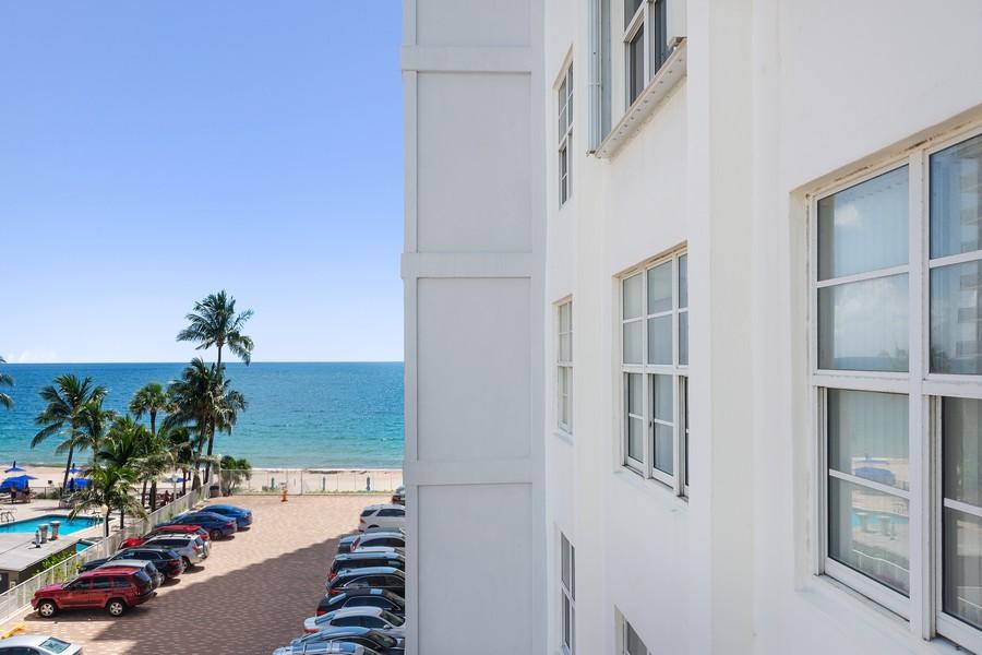 Real Estate Photography - 3750 GALT OCEAN DRIVE UNIT 407, FORT LAUDERDALE, FL, 33304 - Ocean View