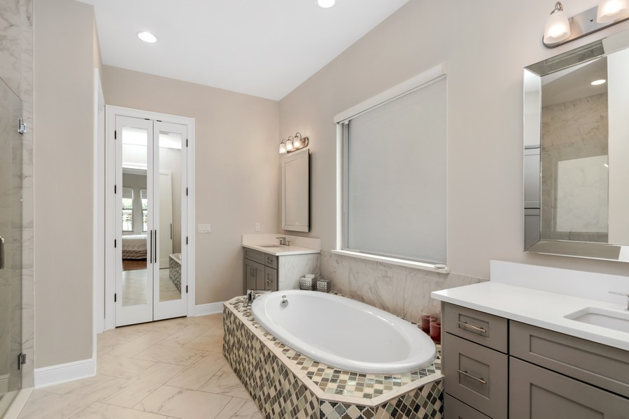 Real Estate Photography - 1345 Tappie Toorie Circle, Lake Mary, FL, 32746 - Master Bathroom