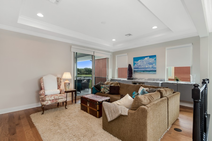 Real Estate Photography - 1345 Tappie Toorie Circle, Lake Mary, FL, 32746 - Media Room