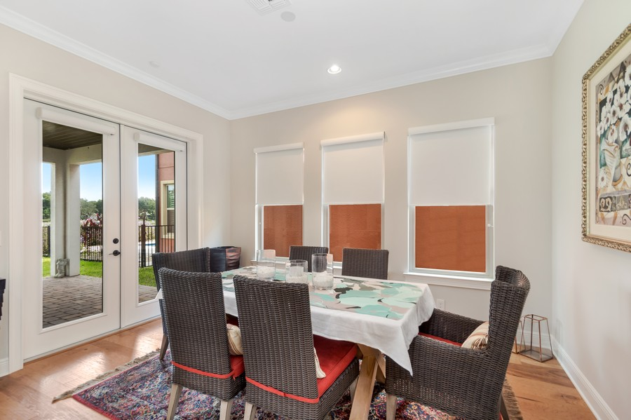 Real Estate Photography - 1345 Tappie Toorie Circle, Lake Mary, FL, 32746 - Dining Room