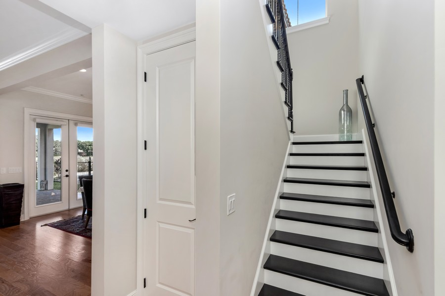 Real Estate Photography - 1345 Tappie Toorie Circle, Lake Mary, FL, 32746 - Staircase