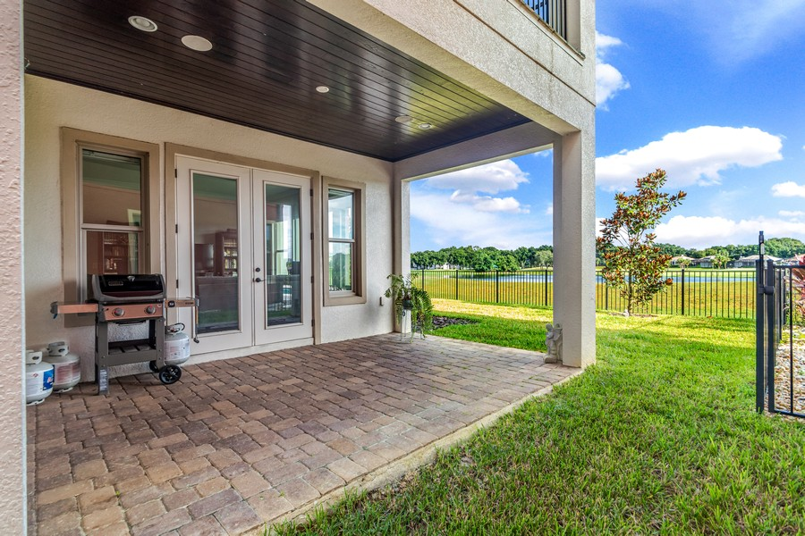 Real Estate Photography - 1345 Tappie Toorie Circle, Lake Mary, FL, 32746 - Patio