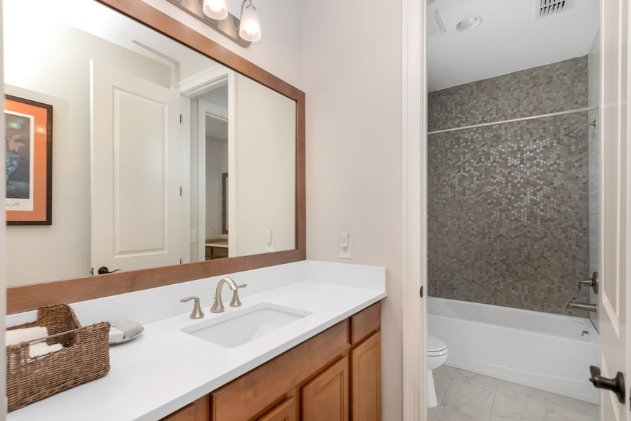 Real Estate Photography - 1345 Tappie Toorie Circle, Lake Mary, FL, 32746 - 2nd Bathroom