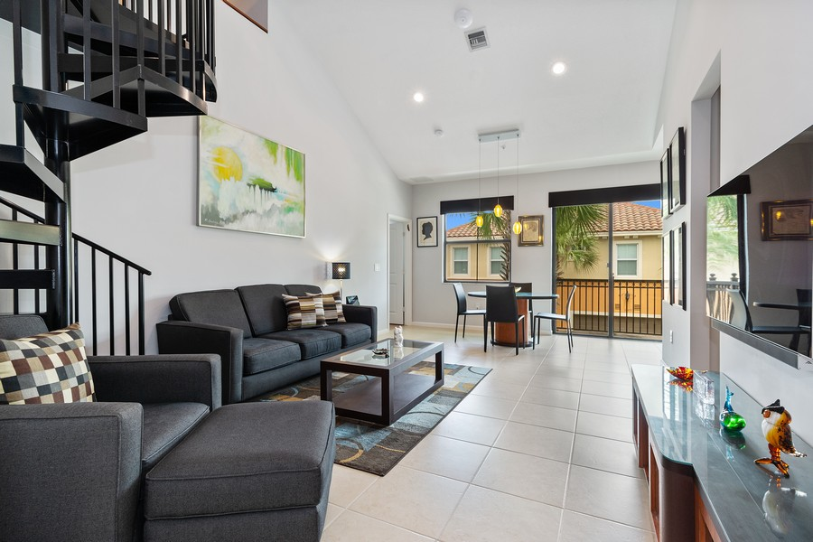 Real Estate Photography - 12660 NW 32nd Manor, Sunrise, FL, 33323 - Living Room