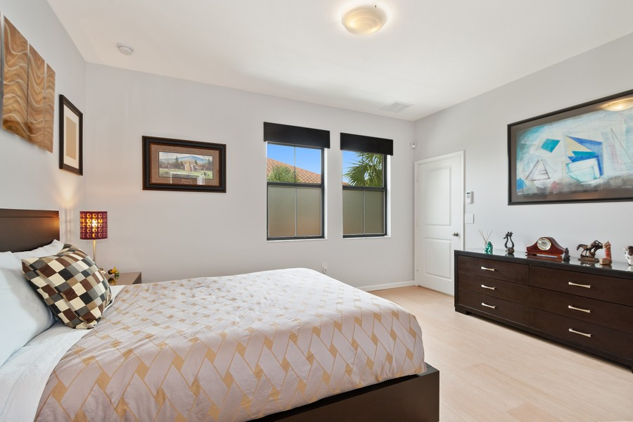 Real Estate Photography - 12660 NW 32nd Manor, Sunrise, FL, 33323 - Master Bedroom