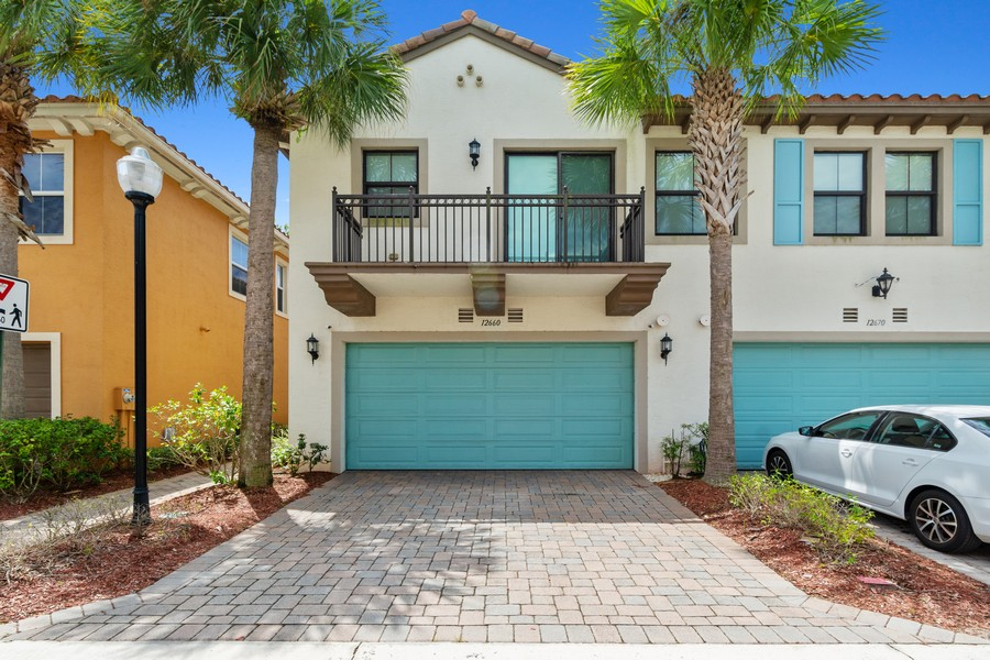 Real Estate Photography - 12660 NW 32nd Manor, Sunrise, FL, 33323 - Front View