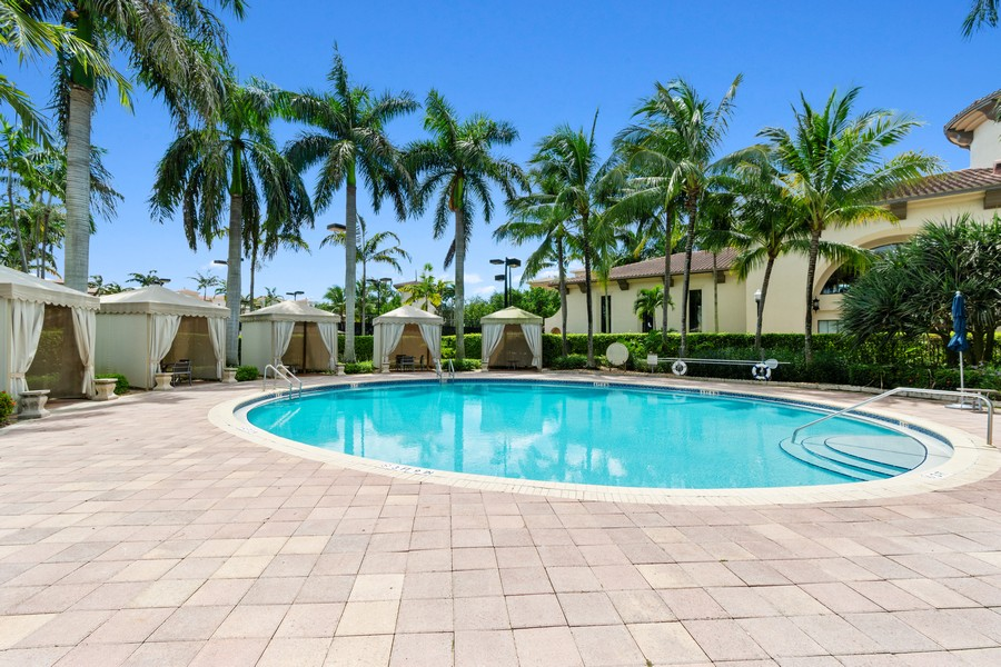 Real Estate Photography - 12660 NW 32nd Manor, Sunrise, FL, 33323 - Pool