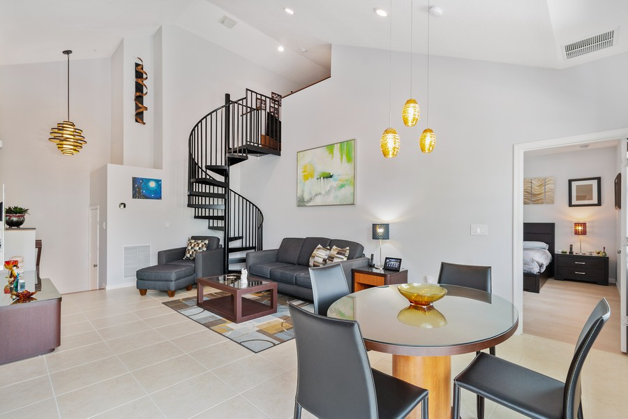 Real Estate Photography - 12660 NW 32nd Manor, Sunrise, FL, 33323 - Living Room / Dining Room