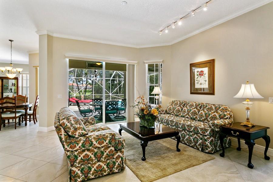 Real Estate Photography - 2705 Hancock Creek Road, West Palm Beach, FL, 33411 - Living Room