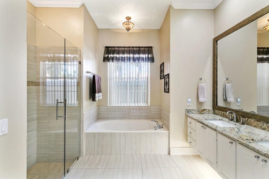 Real Estate Photography - 2705 Hancock Creek Road, West Palm Beach, FL, 33411 - Master Bathroom