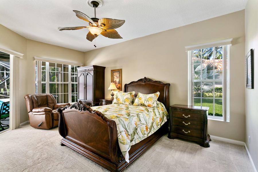 Real Estate Photography - 2705 Hancock Creek Road, West Palm Beach, FL, 33411 - Master Bedroom