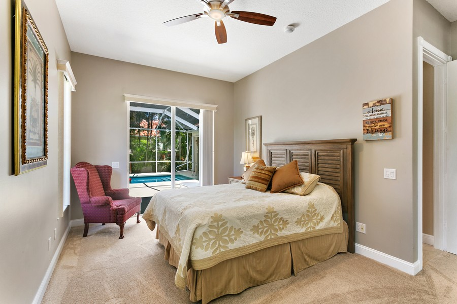 Real Estate Photography - 2705 Hancock Creek Road, West Palm Beach, FL, 33411 - 2nd Bedroom