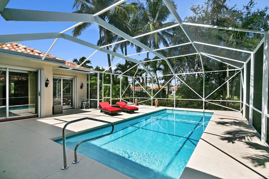 Real Estate Photography - 2705 Hancock Creek Road, West Palm Beach, FL, 33411 - Pool