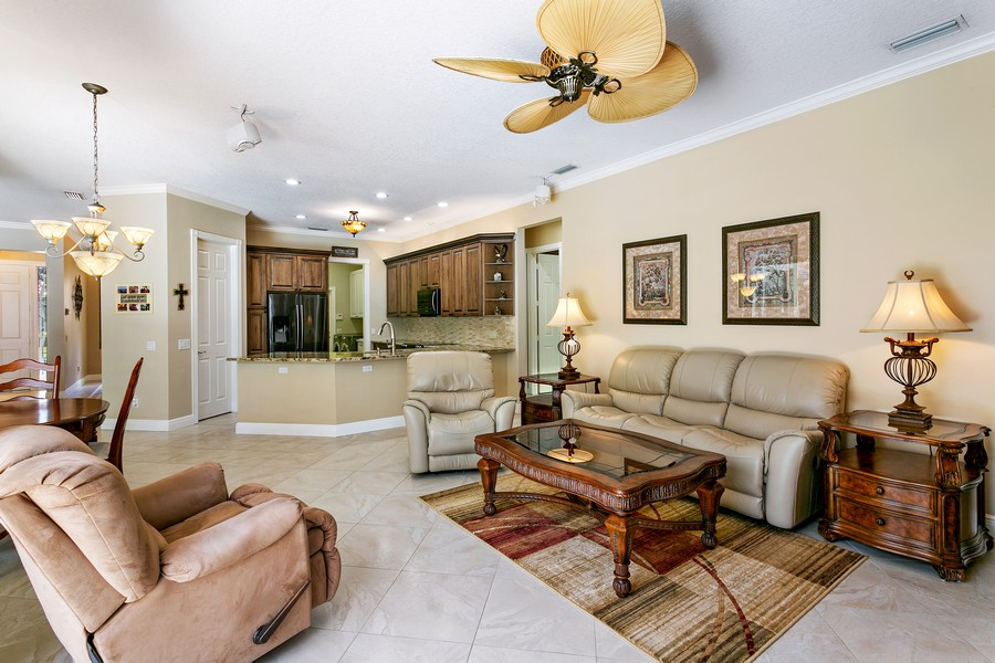 Real Estate Photography - 2705 Hancock Creek Road, West Palm Beach, FL, 33411 - Family Room