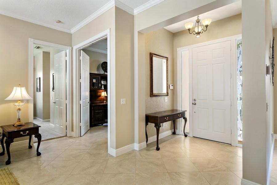 Real Estate Photography - 2705 Hancock Creek Road, West Palm Beach, FL, 33411 - Foyer
